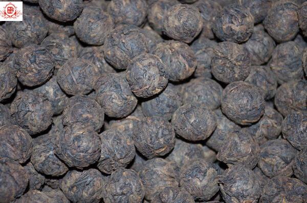 2009勐庫古樹手捏沱茶 茶球 (熟茶) 300克 樹齡約3百年