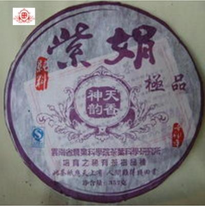 2011紫娟 稀有茶樹品種 雲南茶科所培育之優良品種 保健功效極佳