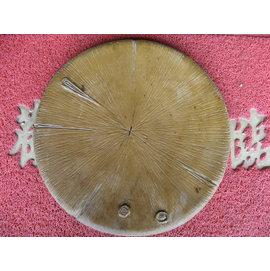 雅竹軒茶舍☆臺灣石心浮雕茶盤﹛圓﹜
